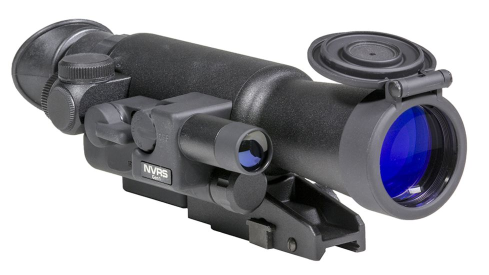 firefield 3x42 gen 1 night vision riflescope isolated on white background