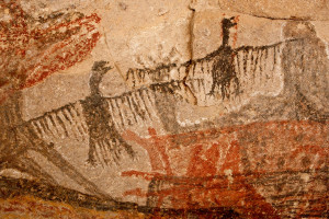 optics den birding cave painting