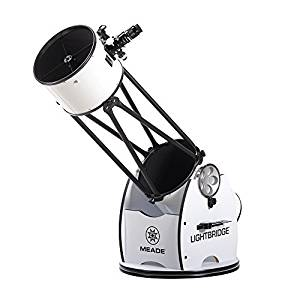 Meade Instruments LightBridge 12-Inch Truss Tube Dobsonian Telescope
