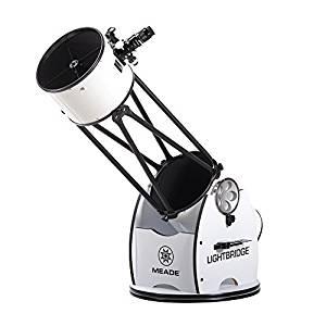 Meade Instruments LightBridge 12-Inch Truss Tube Dobsonian Telescope